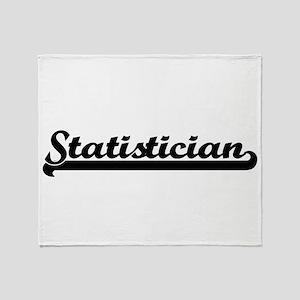 Statistician Artistic Job Design Throw Blanket