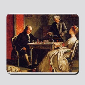chess in art Mousepad