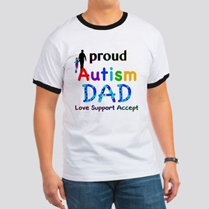 Proud Autism Dad Ringer T