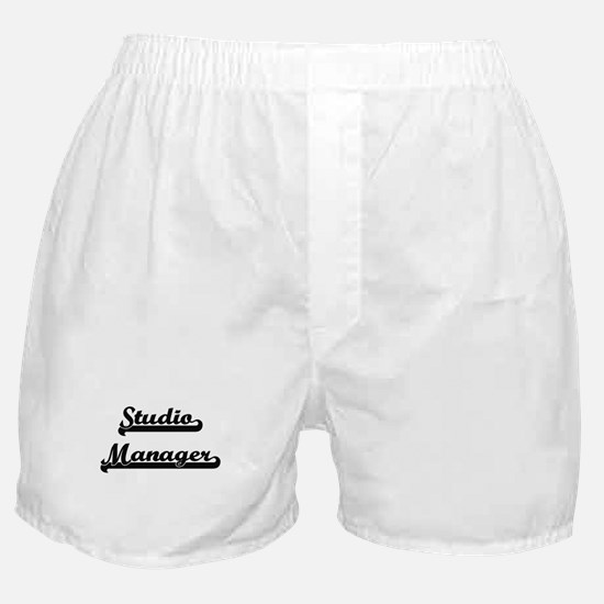 Studio Manager Artistic Job Design Boxer Shorts