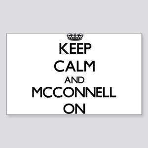 Keep Calm and Mcconnell ON Sticker