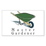 Master Gardener Rectangle Sticker