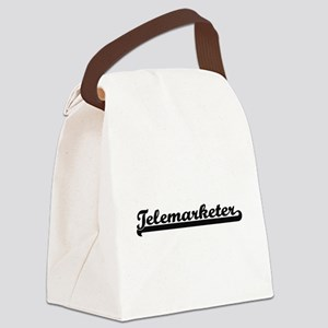 Telemarketer Artistic Job Design Canvas Lunch Bag