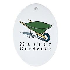 Master Gardener Oval Ornament