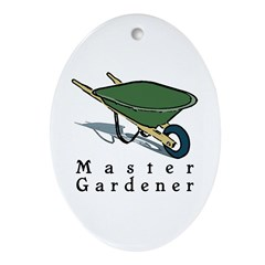 Master Gardener Oval Ornament