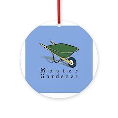 Master Gardener Ornament (Round)