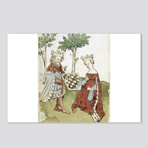chess in art Postcards (Package of 8)