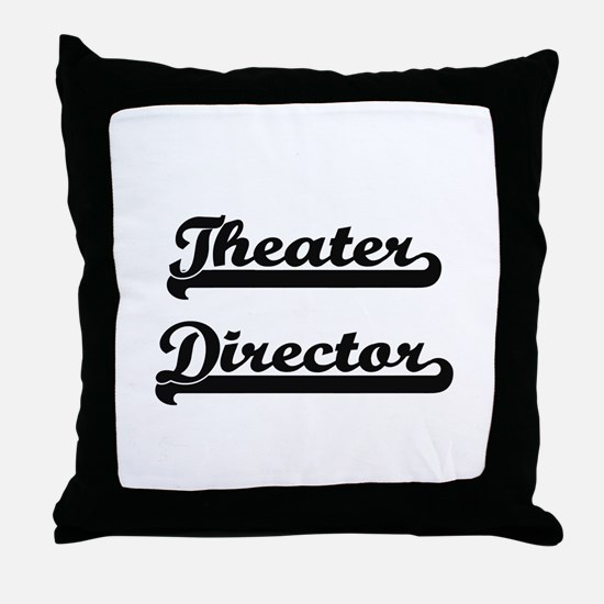 Theater Director Artistic Job Design Throw Pillow