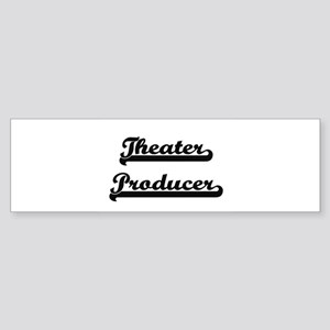Theater Producer Artistic Job Desig Bumper Sticker