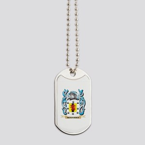 Benavides Coat of Arms - Family Crest Dog Tags