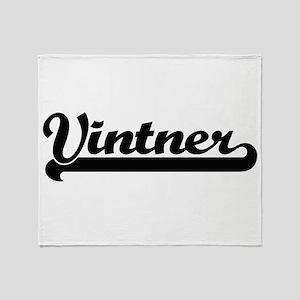 Vintner Artistic Job Design Throw Blanket