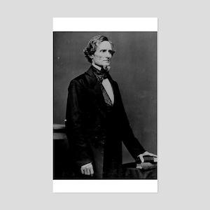 Jefferson Davis (C) Rectangle Sticker