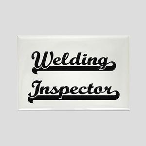 Welding Inspector Artistic Job Design Magnets