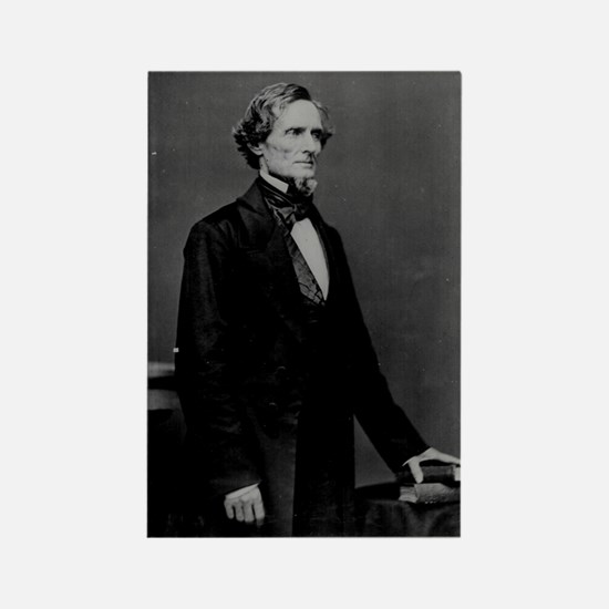 Jefferson Davis (C) Rectangle Magnet