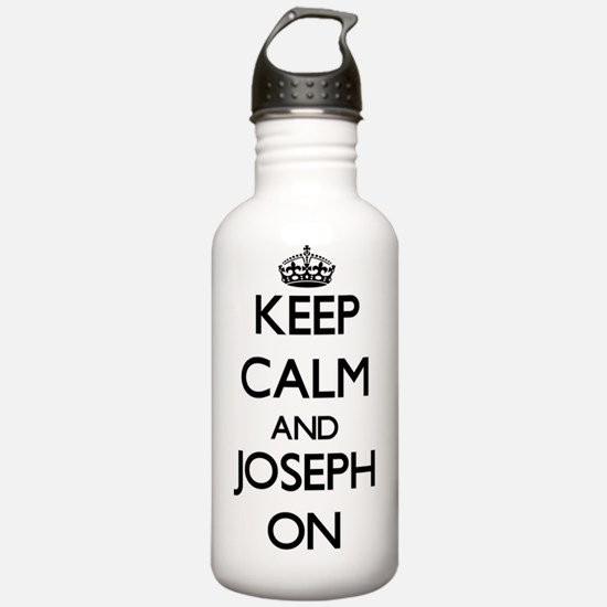 Keep Calm and Joseph O Water Bottle