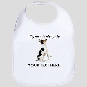 Custom Toy Fox Terrier Bib