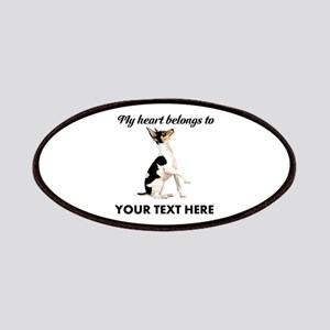Custom Toy Fox Terrier Patch