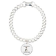 Custom Toy Fox Terrier Charm Bracelet, One Charm