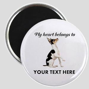 Custom Toy Fox Terrier Magnet