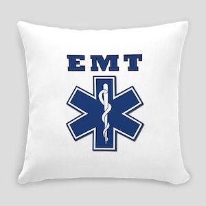 EMT Blue Star Of Life* Everyday Pillow