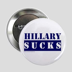Hillary Sucks Button