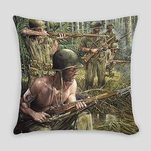 Vietnam War Painting Everyday Pillow