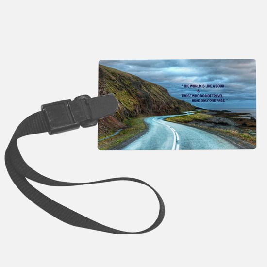 Life & Travel Luggage Tag