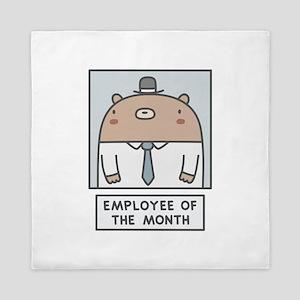 Employee Of The Month Queen Duvet