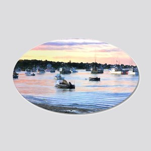 Lobster Boats At Twilight In Cape Cod Wall Decal