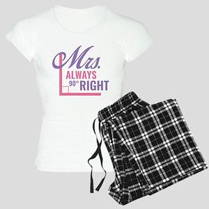 Mrs. Always Right Women's Light Pajamas