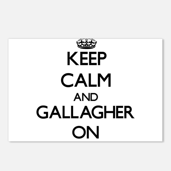 Keep Calm and Gallagher O Postcards (Package of 8)