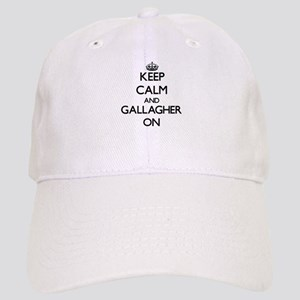 Keep Calm and Gallagher ON Cap