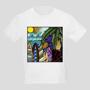Hawaiian Ink- Colour T-Shirt