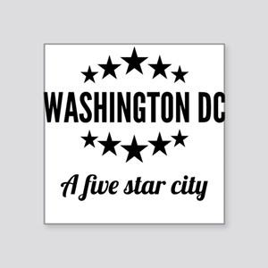 Washington DC A Five Star City Sticker