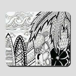 hawaii ink Mousepad