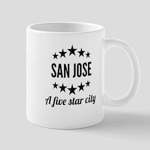 San Jose A Five Star City Mugs