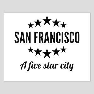 San Francisco A Five Star City Posters
