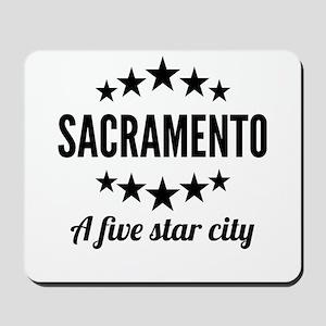 Sacramento A Five Star City Mousepad