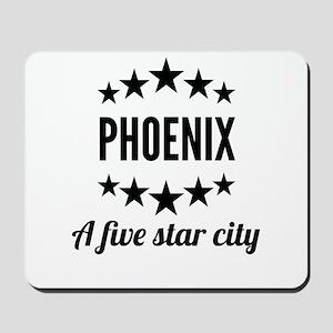 Phoenix A Five Star City Mousepad