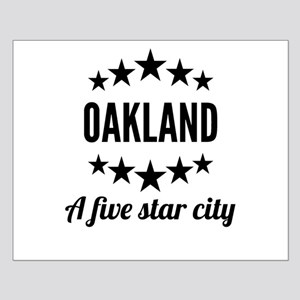 Oakland A Five Star City Posters