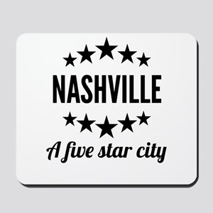 Nashville A Five Star City Mousepad
