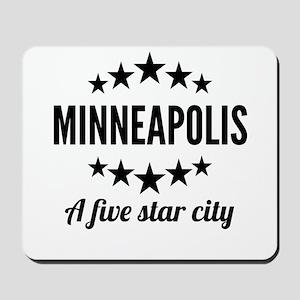 Minneapolis A Five Star City Mousepad
