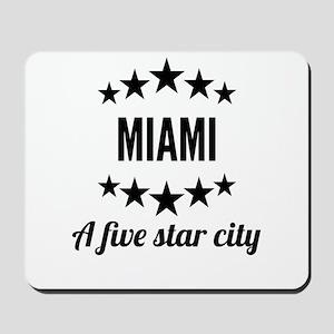 Miami A Five Star City Mousepad
