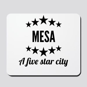 Mesa A Five Star City Mousepad