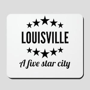 Louisville A Five Star City Mousepad