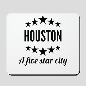 Houston A Five Star City Mousepad