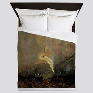 Vintage Fairy by Grimshaw Queen Duvet