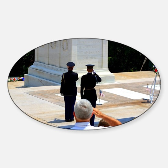 Taps at Tomb of Unknown Decal
