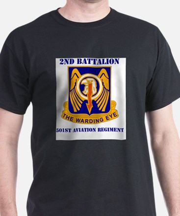 DUI - 2nd Bn - 501st Avn Regt with Tex T-Shirt