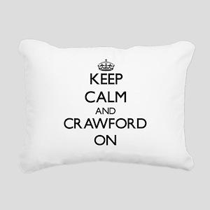 Keep Calm and Crawford O Rectangular Canvas Pillow